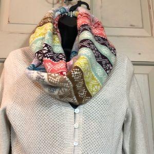 Eddie Bauer Baby Doll Sweater & Infinity Scarf